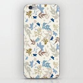 Bauhaus Floral iPhone Skin