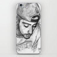 zayn malik iPhone & iPod Skins featuring Zayn Malik by TheArtofJas