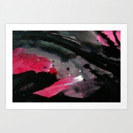 Wet paint 2 Art Print