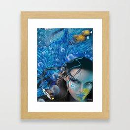 MERMAID BEAUTY Framed Art Print