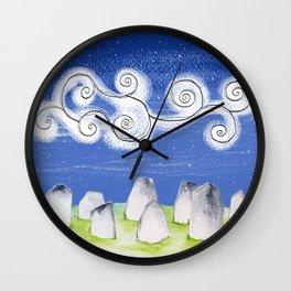 Irish Stone Circle Wall Clock