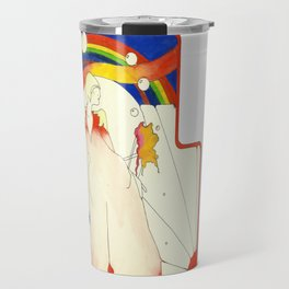 Deco Rainbow Travel Mug