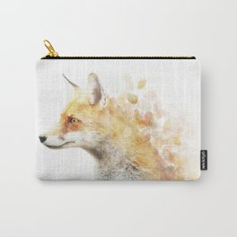 Winter Foxy #2 Carry-All Pouch