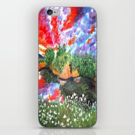 Rainbow Skies iPhone Skin