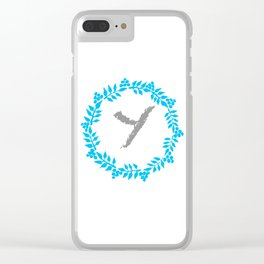 Y White Clear iPhone Case