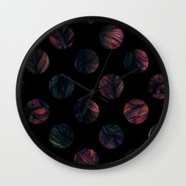 Circles - Half The World Wall Clock