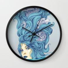 Ocean Queen Wall Clock