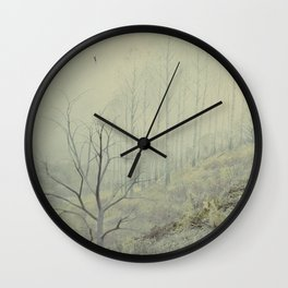 Into The Wolves' Den Wall Clock