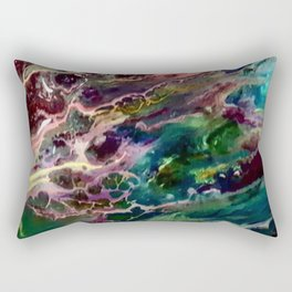 Cosmic  entities Rectangular Pillow