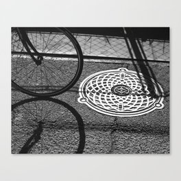 3 Circles Canvas Print