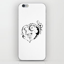 Within the Twilight Heart iPhone Skin