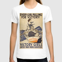 Vintage poster - Victory Girls T-shirt
