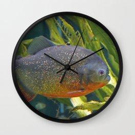Piranhas #1 Wall Clock