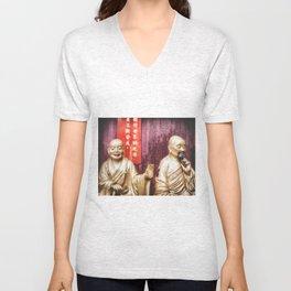 10,000 Buddha's Wisdom Unisex V-Neck