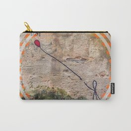 Lost - orange graphic Carry-All Pouch