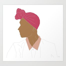 Deep Conditioned Bawse Art Print