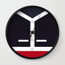 Gold Star Wall Clock