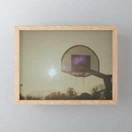 Vintage summer times Framed Mini Art Print