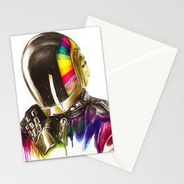 Daft punk Guy-Manuel de Homem-Christo Stationery Cards