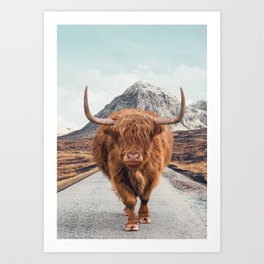 Glencoe Art Print