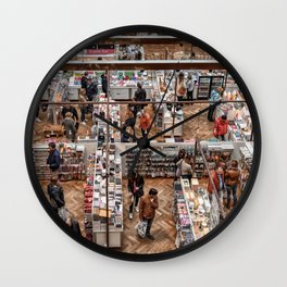Shopping Labyrinth Wall Clock