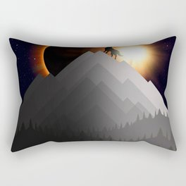 WTF ECLIPSE Rectangular Pillow
