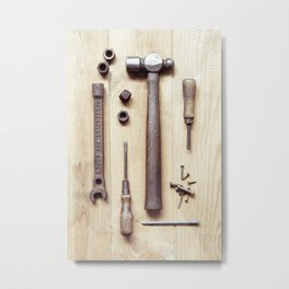Carpenter's Collection Metal Print