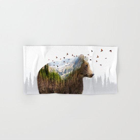 Wild I Shall Stay | Bear Hand & Bath Towel