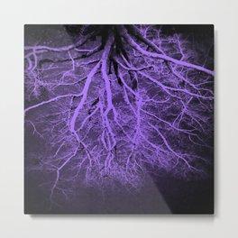 Passage to Hades Purple Metal Print