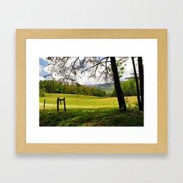 Springtime in Tennessee Framed Art Print