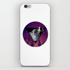 Witchy Wolf iPhone & iPod Skin