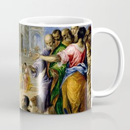 "El Greco (Domenikos Theotokopoulos) ""Christ Healing the Blind"" Coffee Mug"