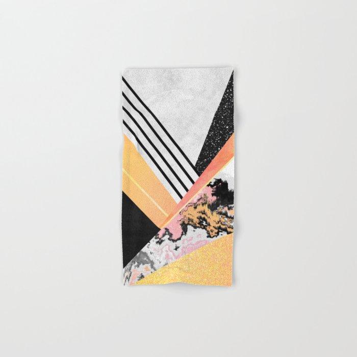 Geometric Summer Hand & Bath Towel