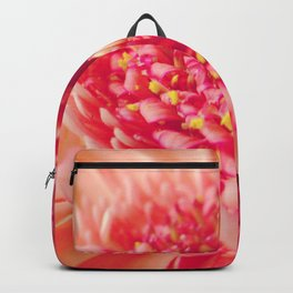 Pink Germini Close up 4 Backpack