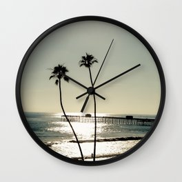San Clemente Sunset Wall Clock