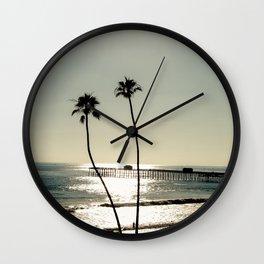 San Clemente Sunset Wall Clock