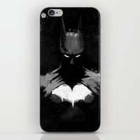 bats iPhone & iPod Skins featuring Bats by Scofield Designs