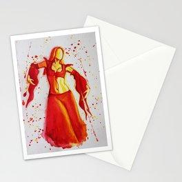 Red Dancer Stationery Cards