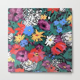 Redon floral Metal Print