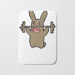 bunny gym Bath Mat