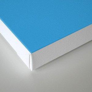 Retro Nerd Blue Canvas Print