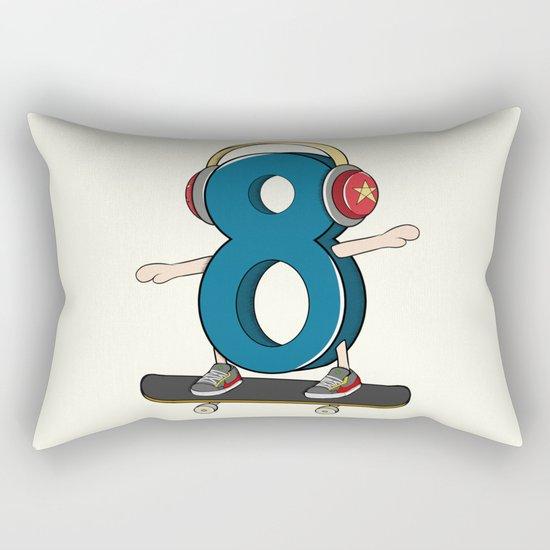 Sk8er (Skater) Rectangular Pillow