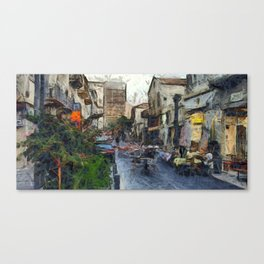 Haifa city 6 Canvas Print