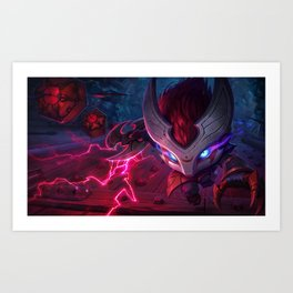 Blood Moon Kennen League Of legends Art Print