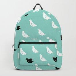 Flock of pigeons Backpack
