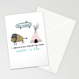 water is life. Stationery Cards