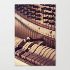 Le Vieux Piano Canvas Print