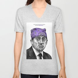 Prison Mike - TV Inspired Art Unisex V-Neck