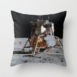 Apollo 14 - Lunar Module Throw Pillow