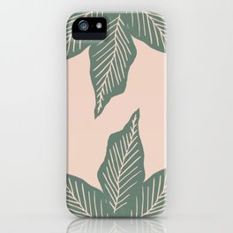 Surrounded by Plant Lovers iPhone Case